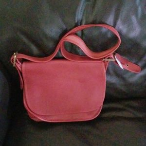 Handbags - Red Coach Bag